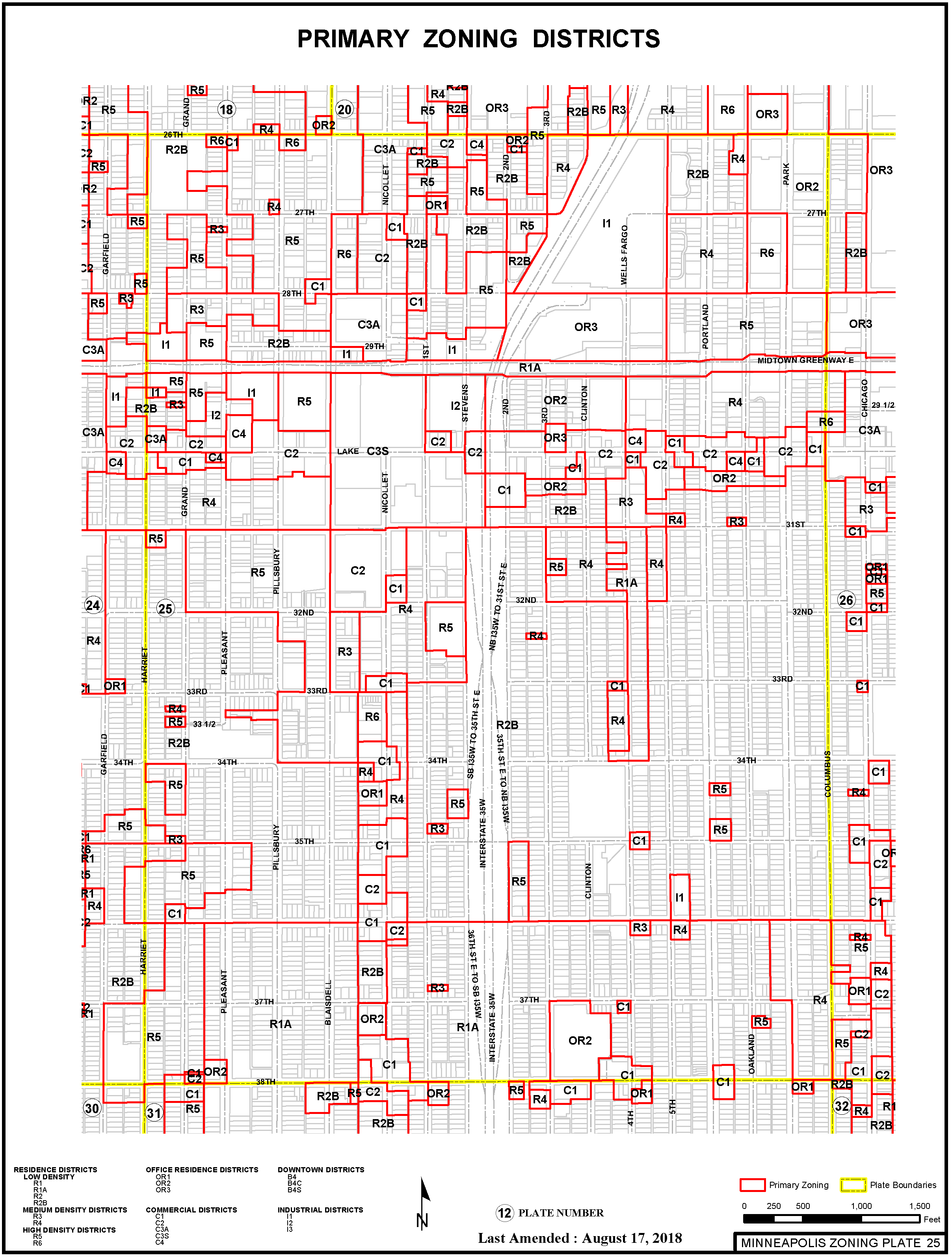 CHAPTER 521  - ZONING DISTRICTS AND MAPS GENERALLY | Code of