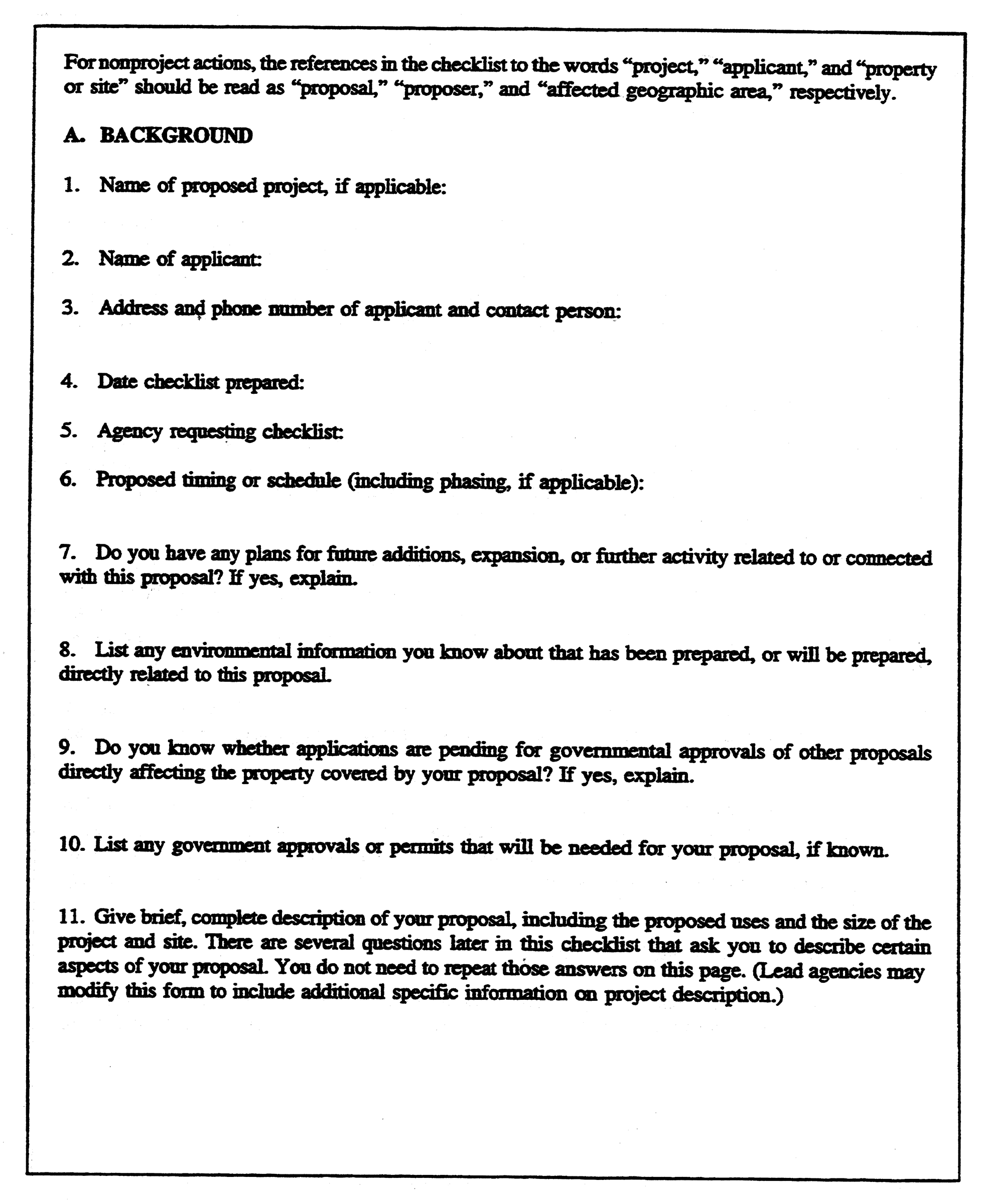 Chapter 25 05 - ENVIRONMENTAL POLICIES AND PROCEDURES