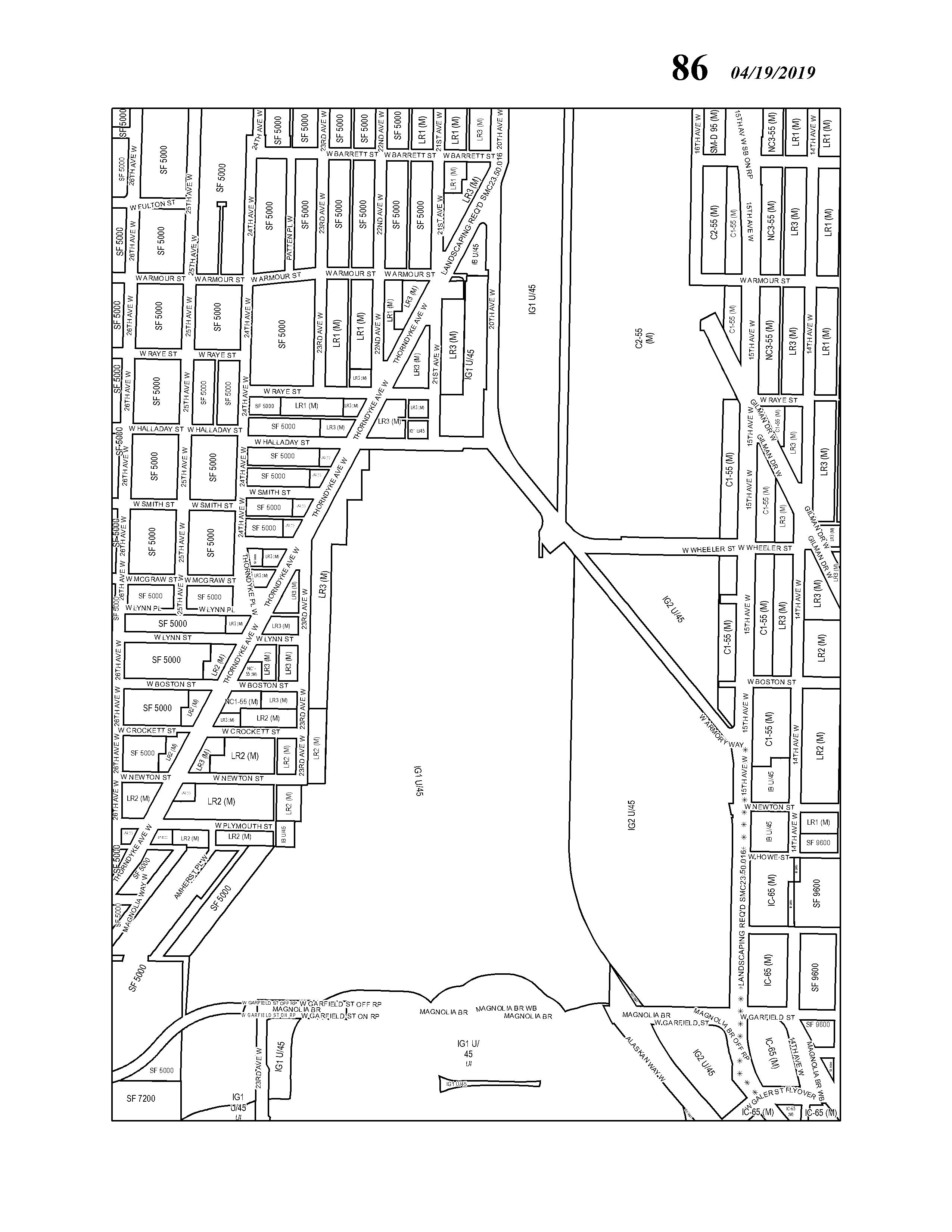 SEATTLE ZONING MAPS | Municipal Code | Seattle, WA