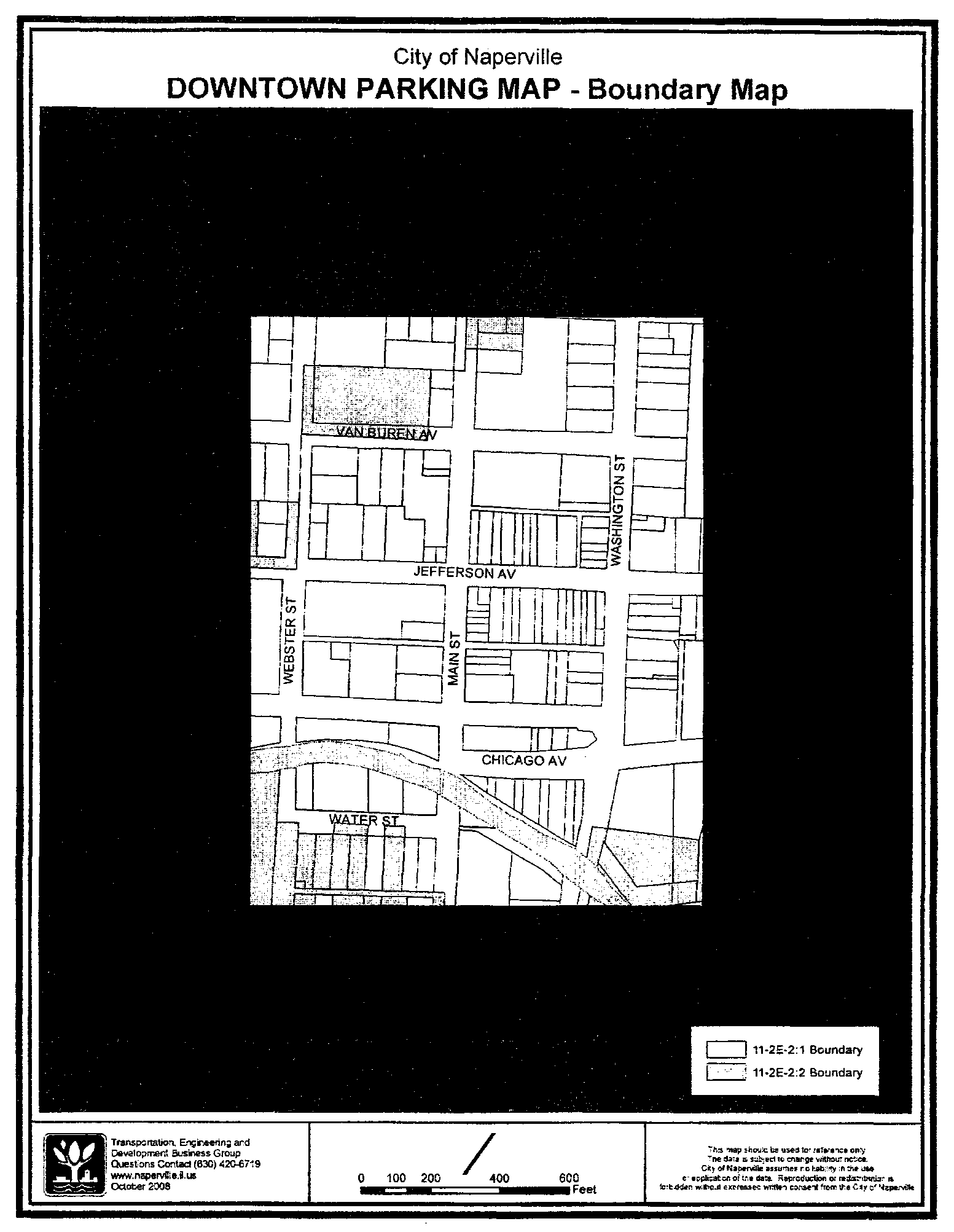 Subway Map Naperville.Chapter 2 Parking Code Of Ordinances Naperville Il Municode